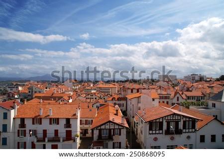 town - stock photo