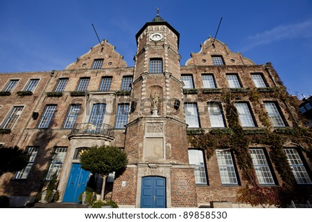 Town Hall in Dusseldorf, Germany - stock photo
