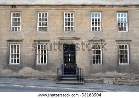 Town House Exterior - stock photo