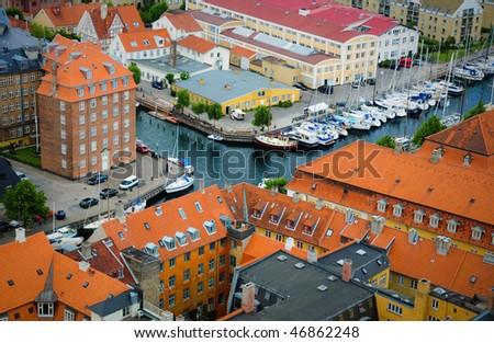 Town Kopengagen - stock photo