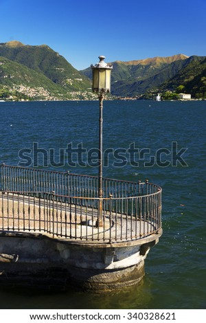 Town of Como,Italy, Europe - stock photo