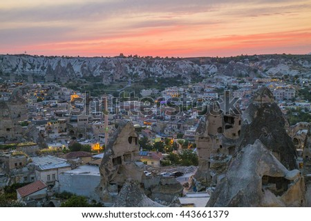 Town of Goreme, Turkey