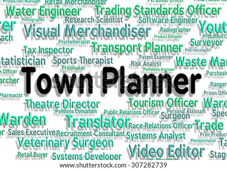 Town Planner Meaning City Settlement And Borough