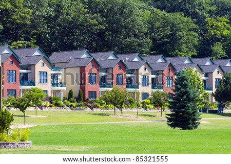 Townhouse - stock photo
