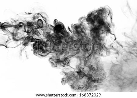 Toxic fumes - stock photo