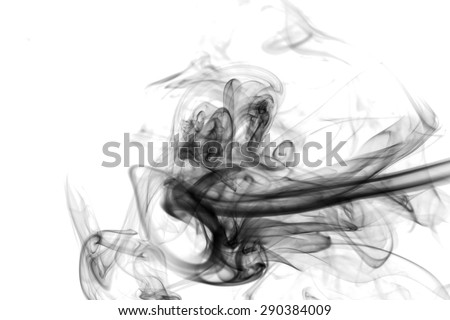 Toxic fumes movement. - stock photo