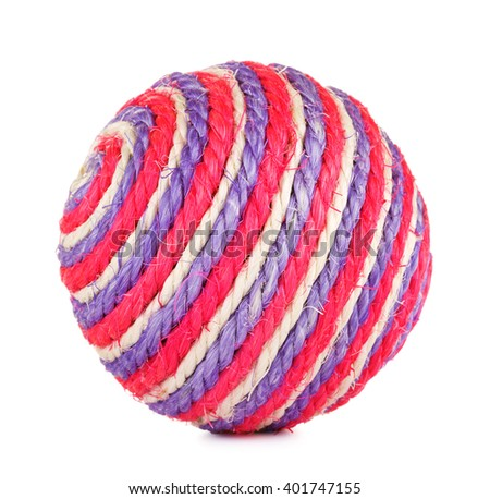 Toy Ball For Cat - stock photo