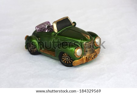 toy car. - stock photo