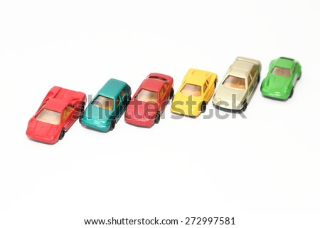 Toy cars - stock photo