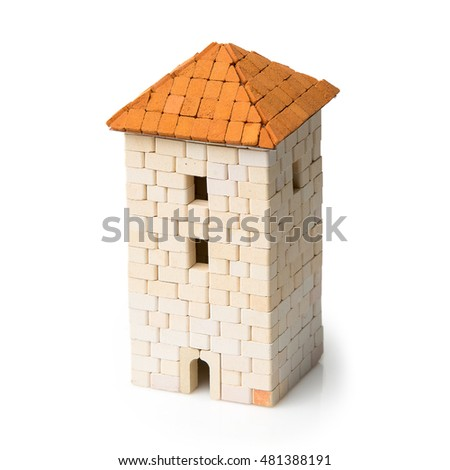 Clay house stock photos royalty free images vectors for Mud brick kit homes