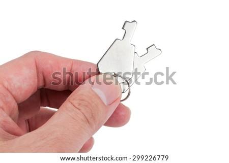 Toy Key close up shot - stock photo