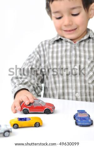 toy kid - stock photo