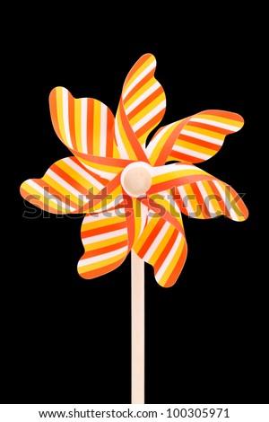 Toy pinwheel - stock photo