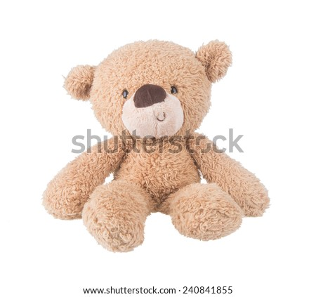 Toy. Teddy Bear. Teddy Bear on the background. - stock photo