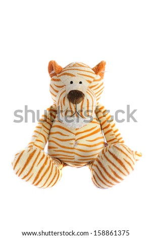 toy tiger - stock photo