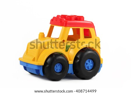 toy tractor - stock photo