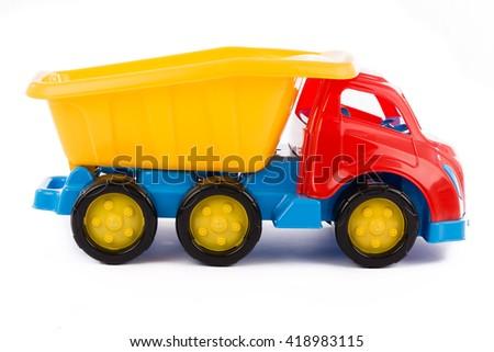 toy truck - stock photo