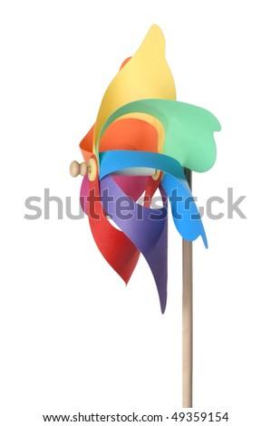 toy-windmill - stock photo