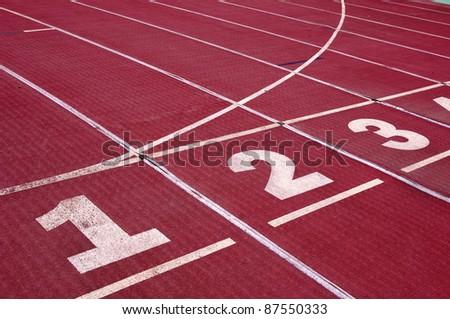 Track - stock photo