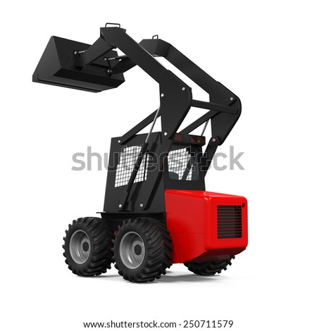 Tractor Loader - stock photo