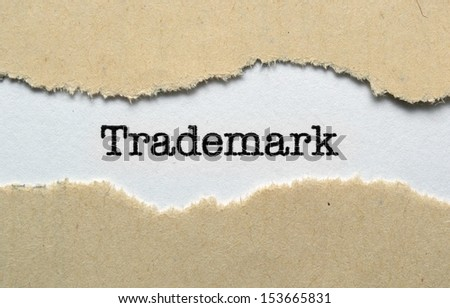 Trademark - stock photo