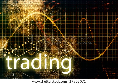 Trading Abstract Business Concept Wallpaper Presentation Background