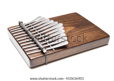 Traditional African instrument Kalimba, thumb piano