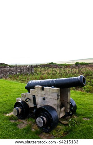 Traditional cannon, approximative 200 years old. Useful for concepts.