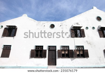 Traditional chinese building style - stock photo