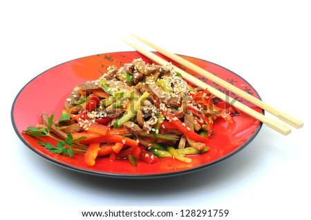 traditional chinese cuisine - stock photo