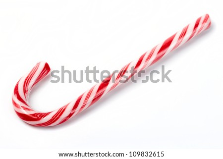 Traditional christmas candy - stock photo