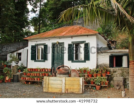 Traditional cottage at Monte, Madeira
