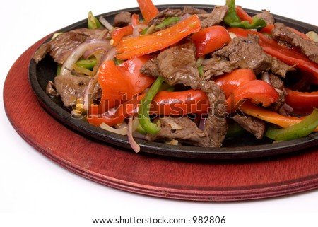 traditional fajitas