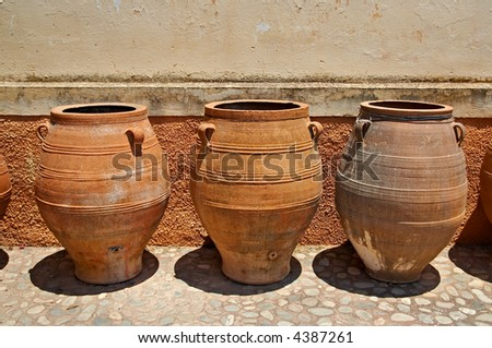 traditional greek jugs