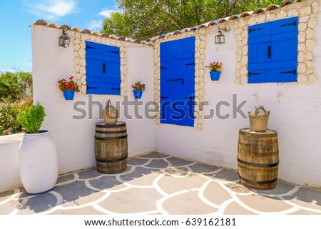Greek Style House greek house stock images, royalty-free images & vectors | shutterstock