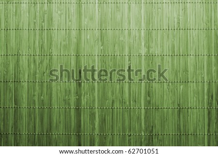 Traditional green bamboo pad texture - stock photo