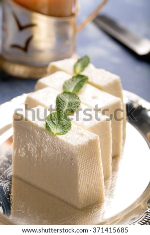 Traditional indian cheese panner (prepared form fresh milk)