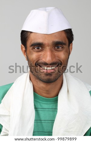 traditional indian male - stock photo