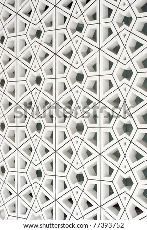 Traditional Islamic Pattern and Design used as a Background - stock photo