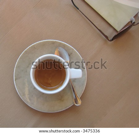 Traditional Italian espresso