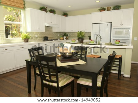 Traditional kitchen - stock photo