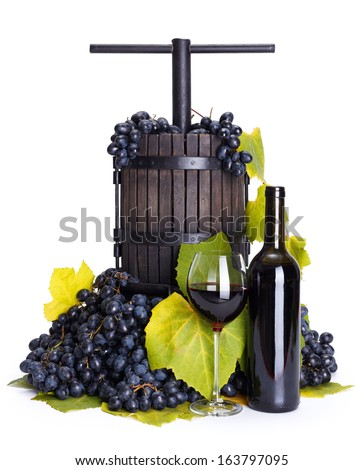 how to make a grape press