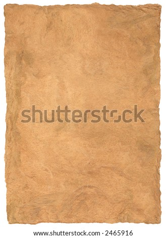 Traditional Mesoamerican Bark Paper - stock photo