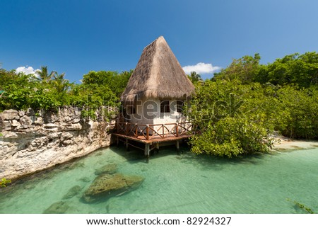 Traditional Mexican House Stock Photo Royalty Free 82924327
