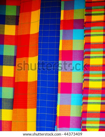 Traditional Mexican Textile Stock Photo 44373409