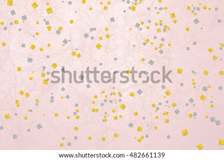 traditional paper texture gold silver pink