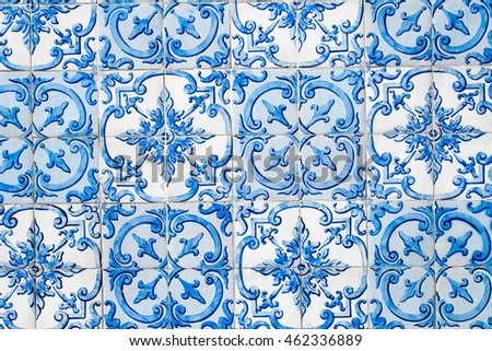 Traditional portuguese/spanish tile.