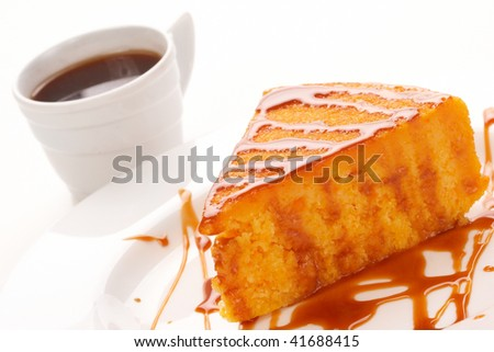 Traditional Pumpkin pie - stock photo