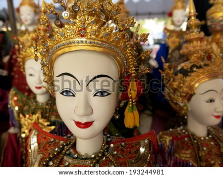 Traditional puppet of Thailand