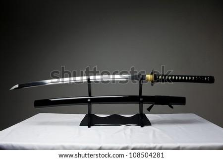 Traditional Samurai Sword - stock photo
